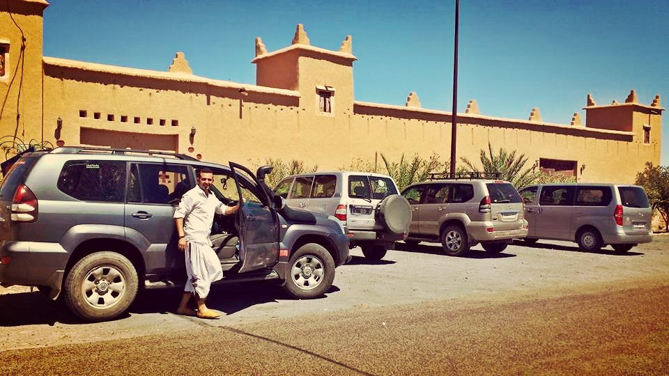 Kasbah Nkob Ennakhile - Parking