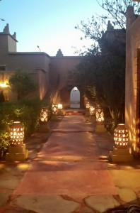Entrance - Kasbah Nkob
